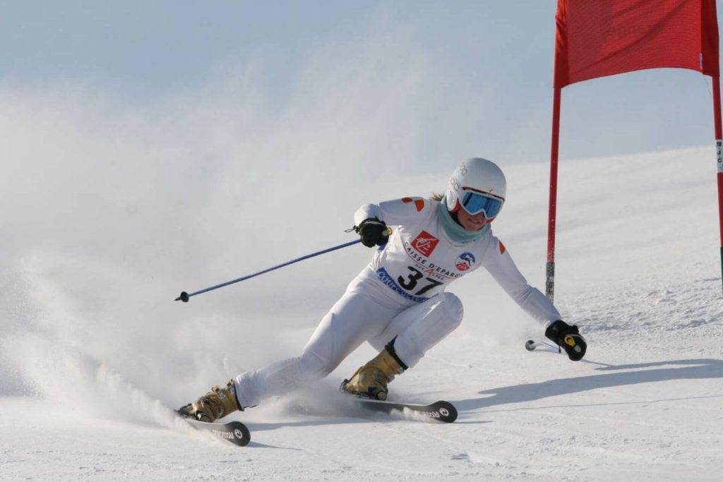 Skirennfahrer müssen schnelle Veränderungen der Lage und Bewegung vornehmen