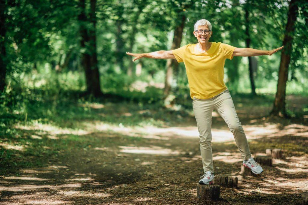 Gute koordinative Fähigkeiten sorgen für ein ausgewogeneres Körpergefühl