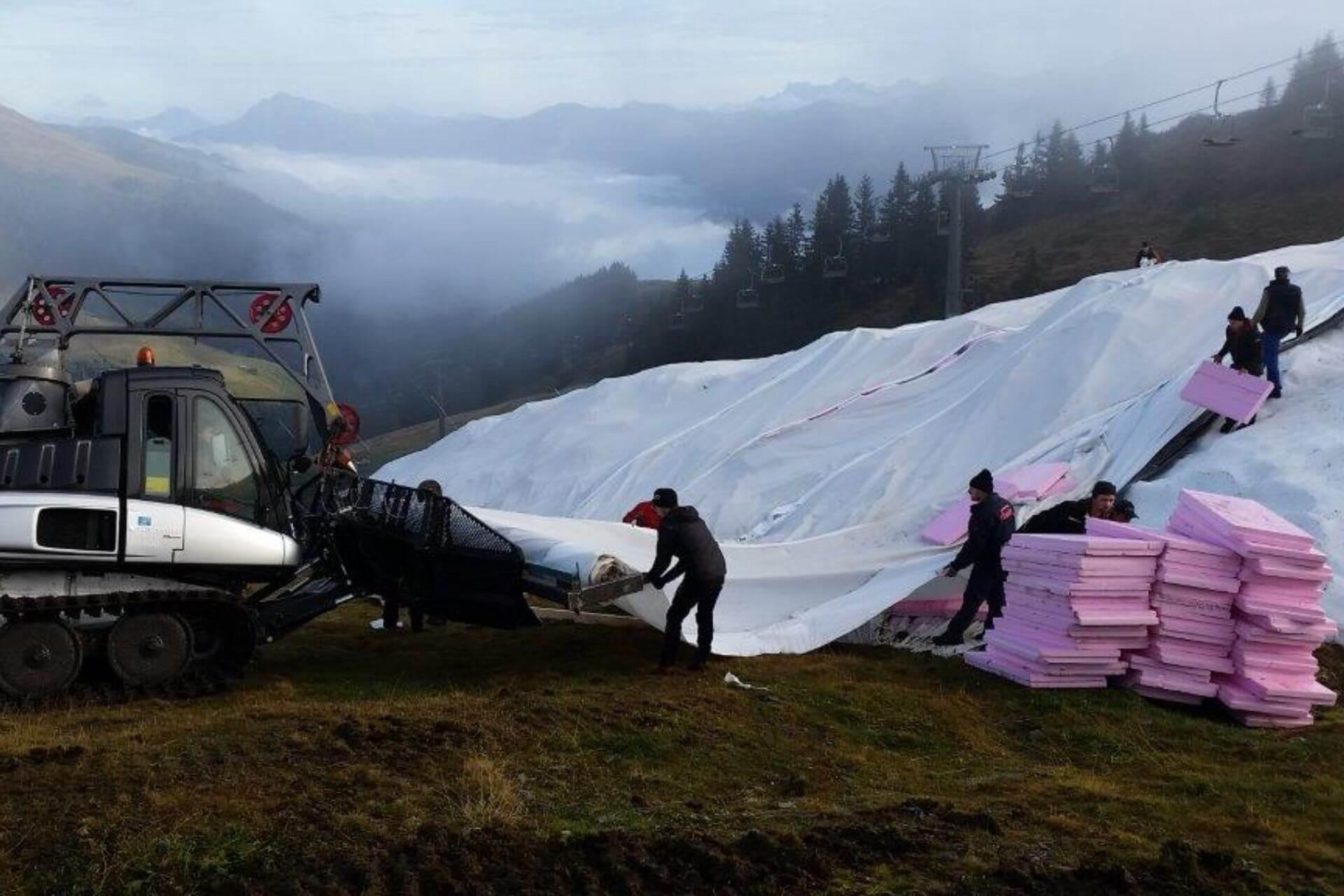 Nachhaltige Skigebiete