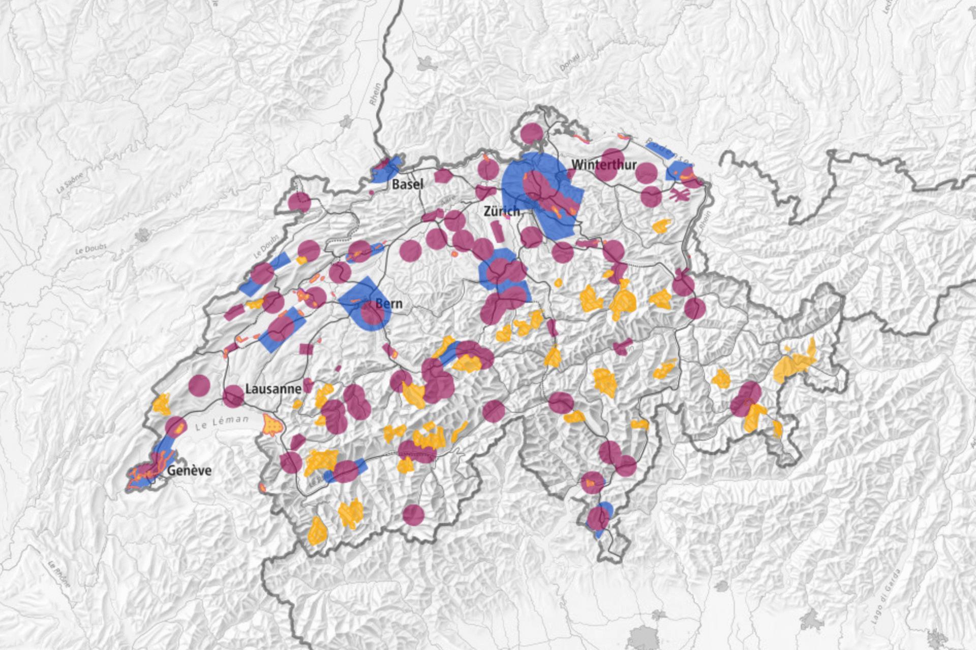 Luftraum in der Schweiz
