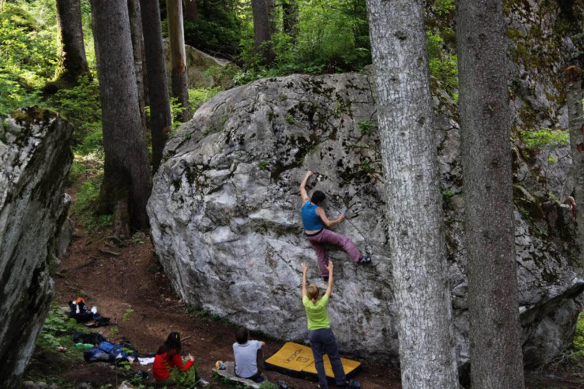Boulderspots in Europa