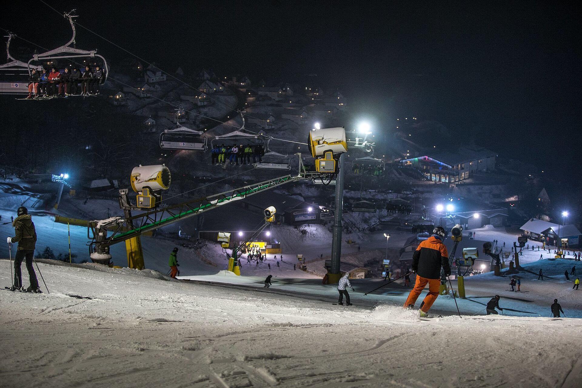 Die größten Skigebiete Deutschlands