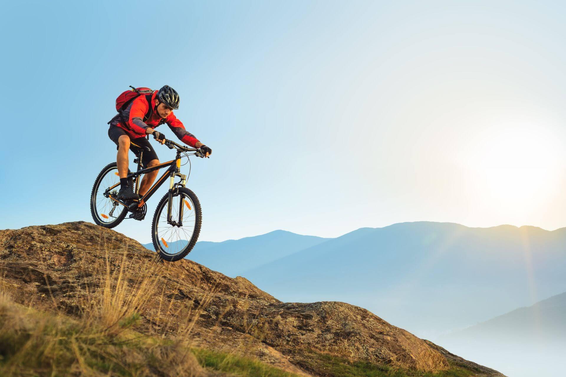 Problemzonen der Mountainbiker