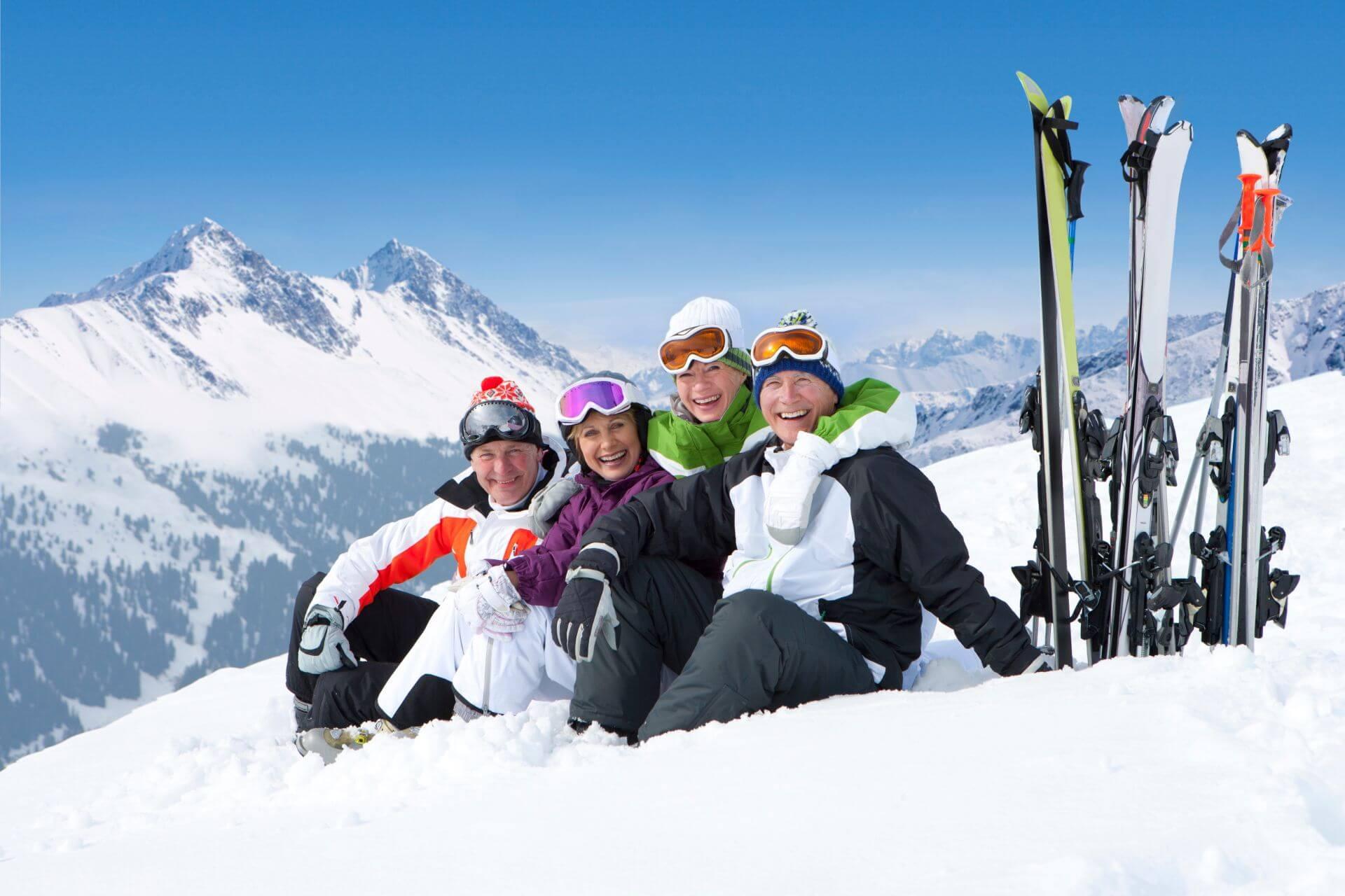 Skifahren im Alter