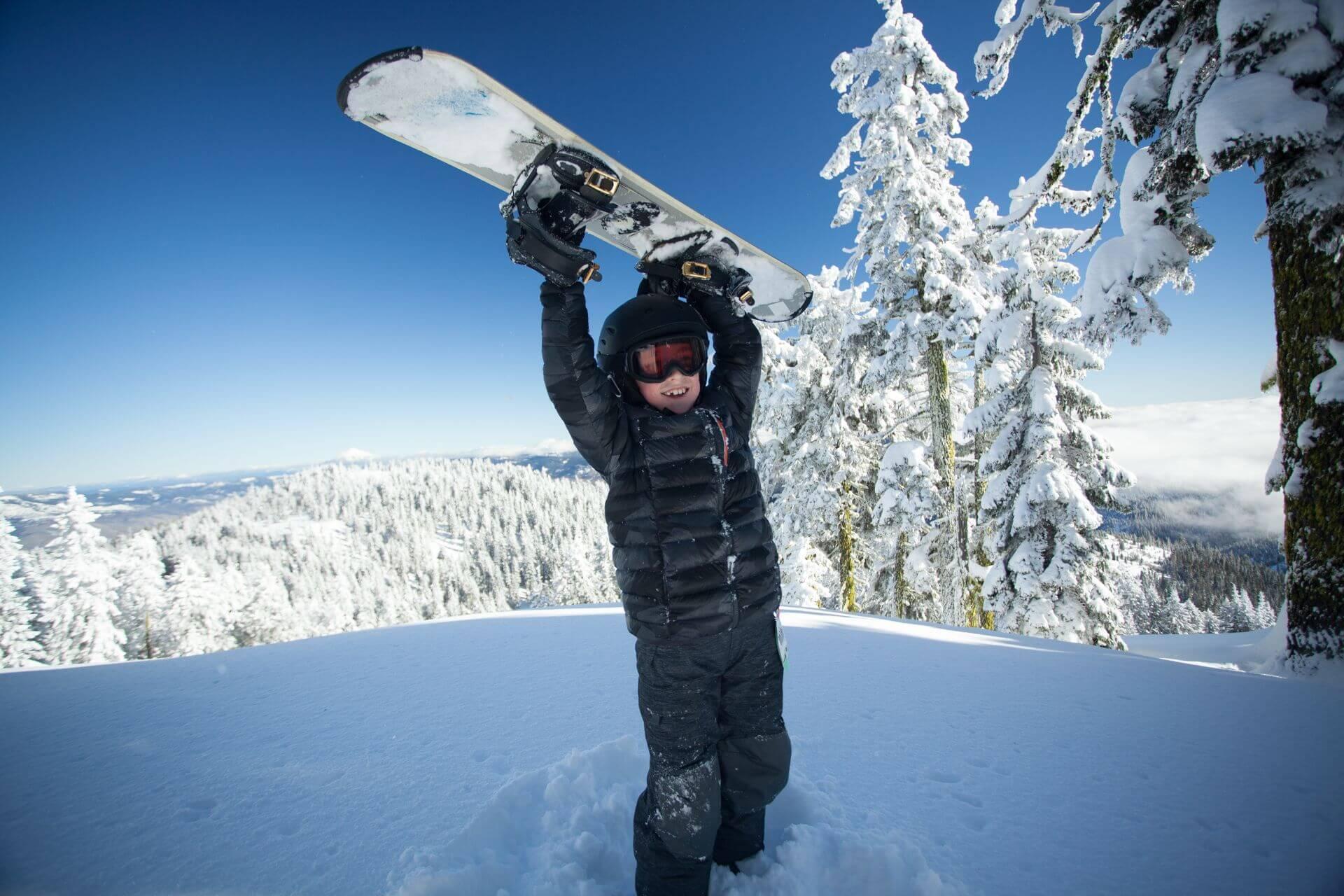 Egal ob Skifahren oder Snowboarden, der Spaß sollte immer an erster Stelle stehen