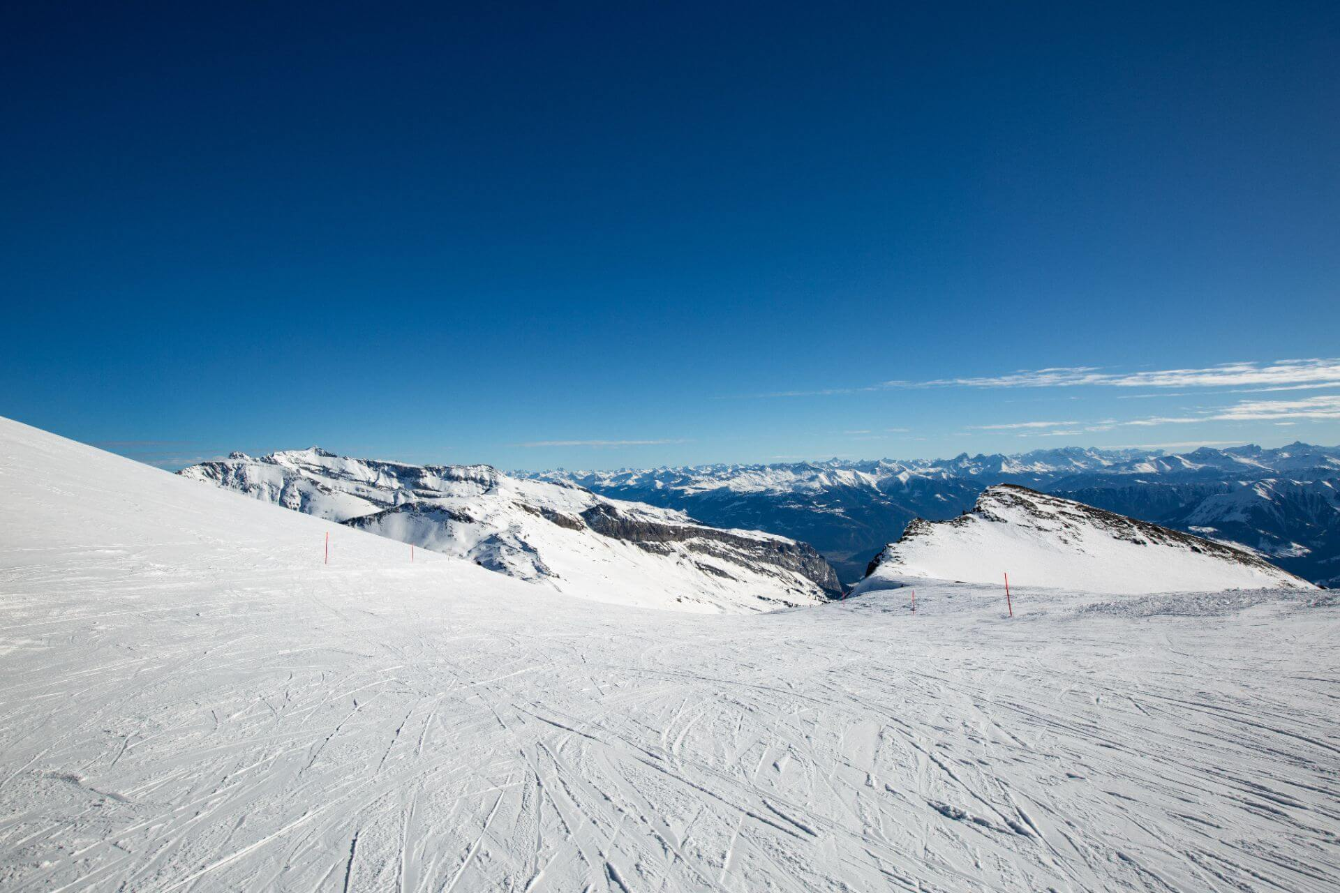 Die längsten Skigebiete