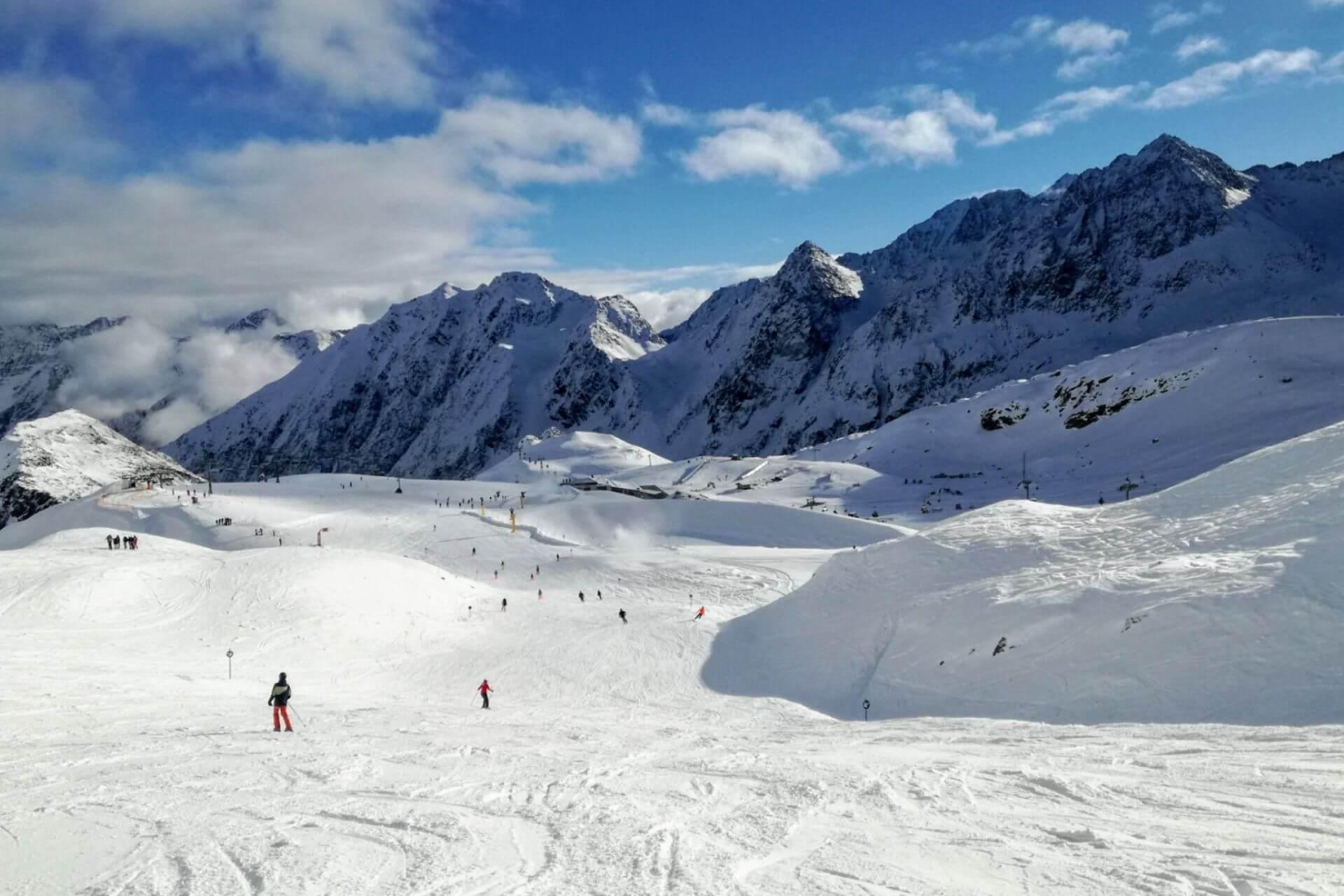 besten Skigebiete rund um Innsbruck
