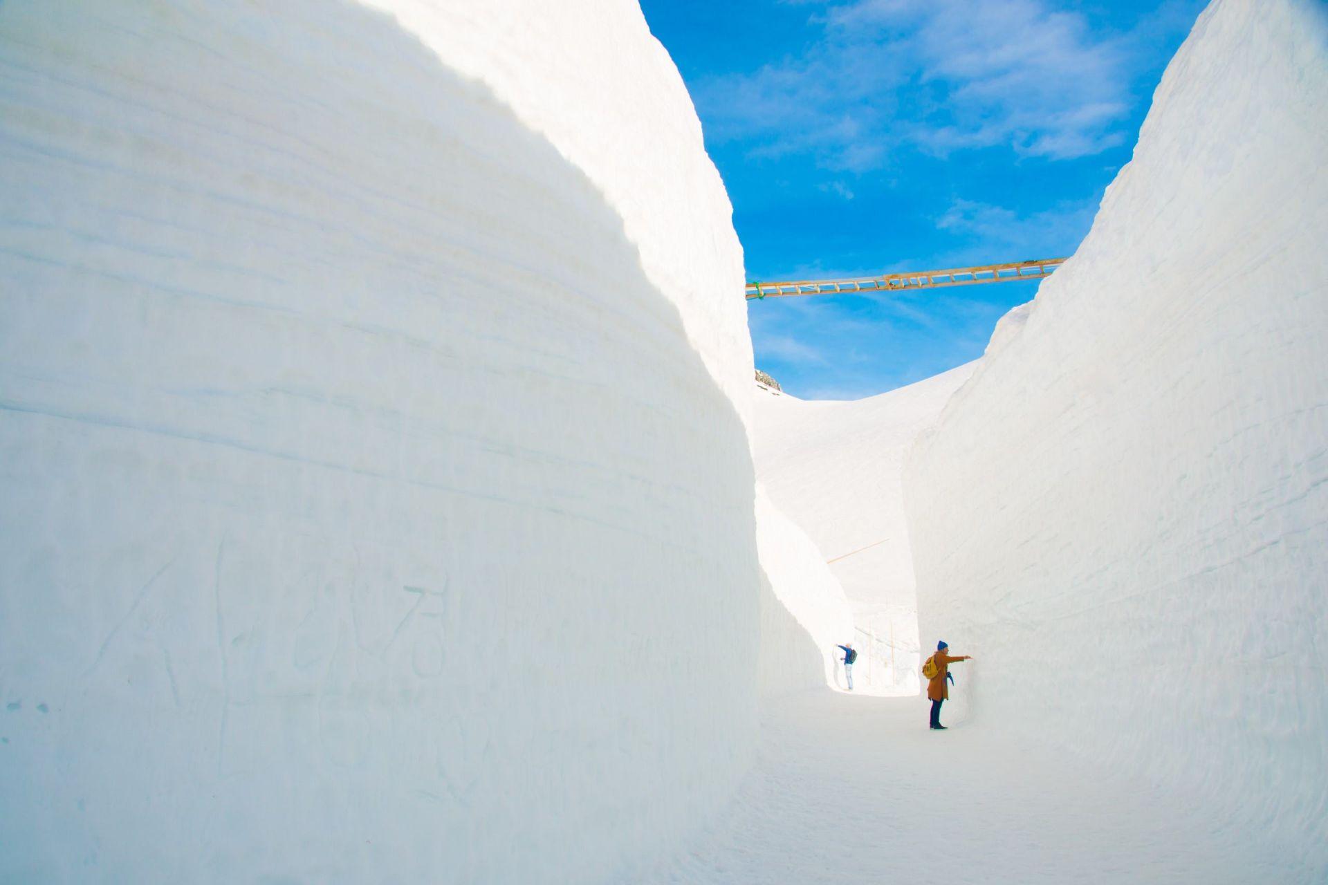 Die Schneemauer von Toyama