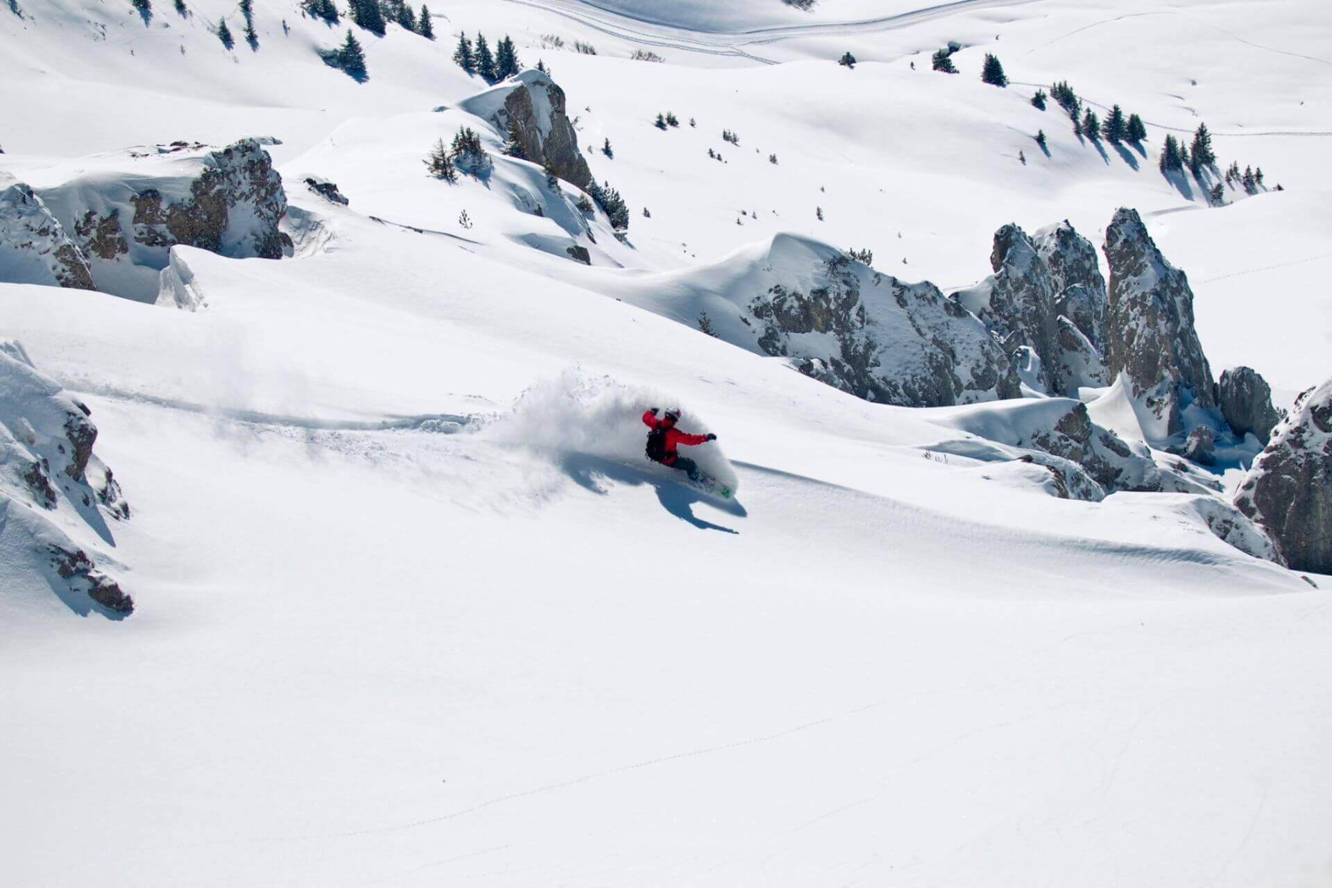 Freeride Top-Skigebiete