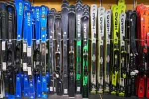 zurich-switzerland-circa-october-2018-skis by Sorbis