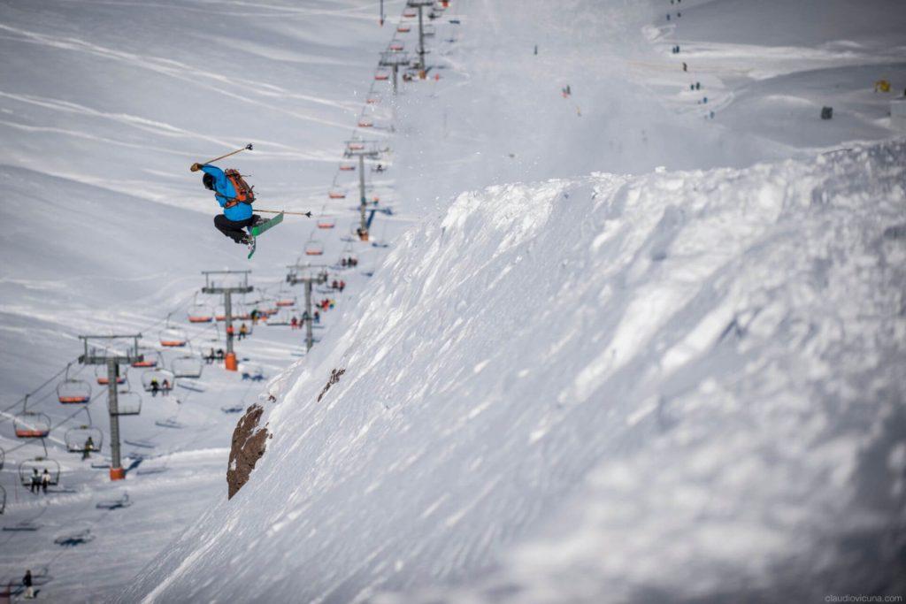 Ski fahren im Valle Nevado, Chile. | ©ValleNevado