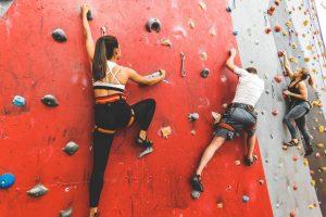 Klettertechnik Richtig Eindrehen beim Klettern