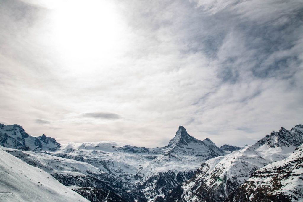 Blick aufs Matterhorn. | ©Skiinfo