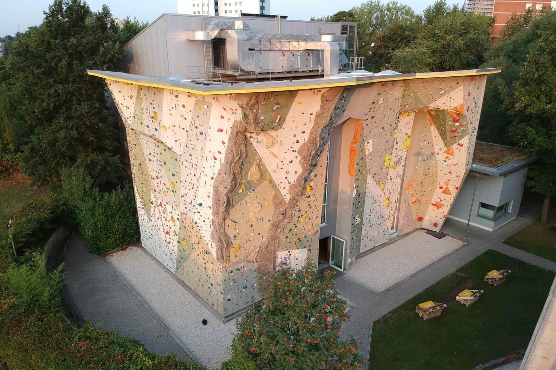 Das DAV Kletterzentrum in Hamburg.